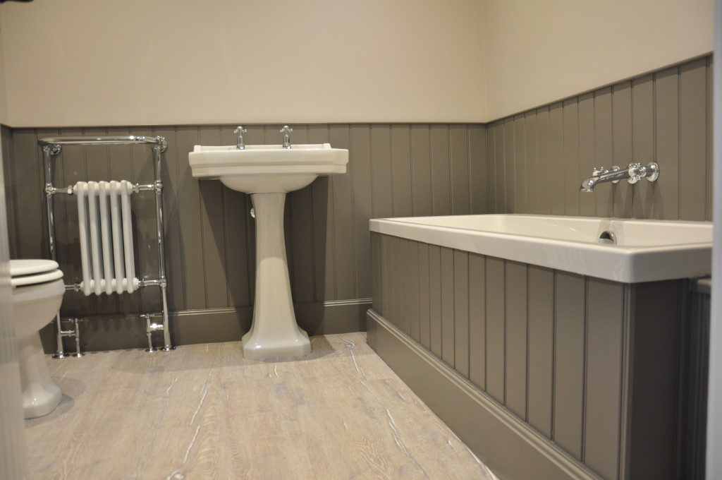 Traditional Edwardian style bathroom