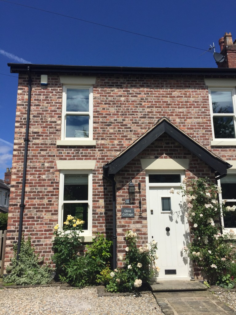 Double storey extension Cheshire brick