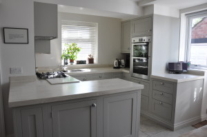 Kitchen with Corian