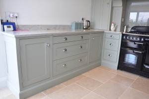 Sage green kitchen units and drawers resized