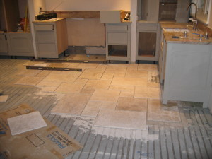 Tiling and Under Floor Heating